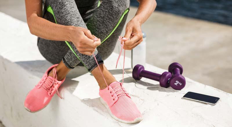 pantofi sport roz